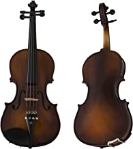 Cecilio 4/4CVN-EAV+SR 4/4 Full Size Violin, Varnish-Antique