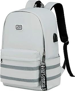 Clown-Joker Durable Travel Computer Bag Bookbag for School Work Office Unisex Laptops Backpack with USB Charging Port
