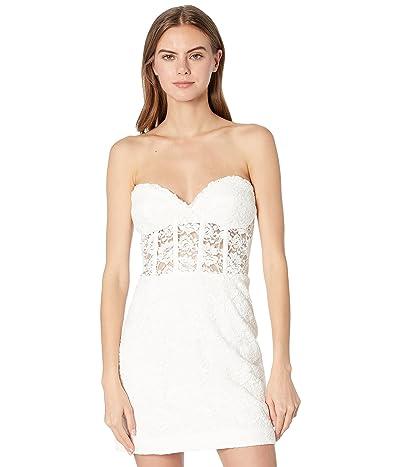 Bardot Lace Corset Mini Dress