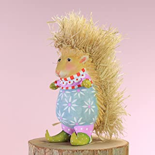 Patience Brewster Mini Pansy Porcupine Figural Ornament #31232