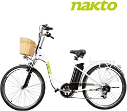 """BRIGHT GG ebike with Removable 36V 10AH/48V 12AH Lithium Battery, Lock and Charger(22""""/26"""")"""