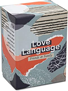 Love Language: Friends & Family - 150 Conversation Starter Questions and Icebreakers - Relationship and Team Building Card...