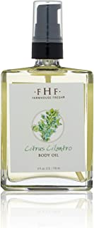 Farmhouse Fresh Citrus Cilantro Body Oil, 4 Fl Oz