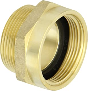 Campbell Fittings FM2525F Female to Male Nipple 2-1//2 NPT x 2-1//2 NST Brass 2.5 ID