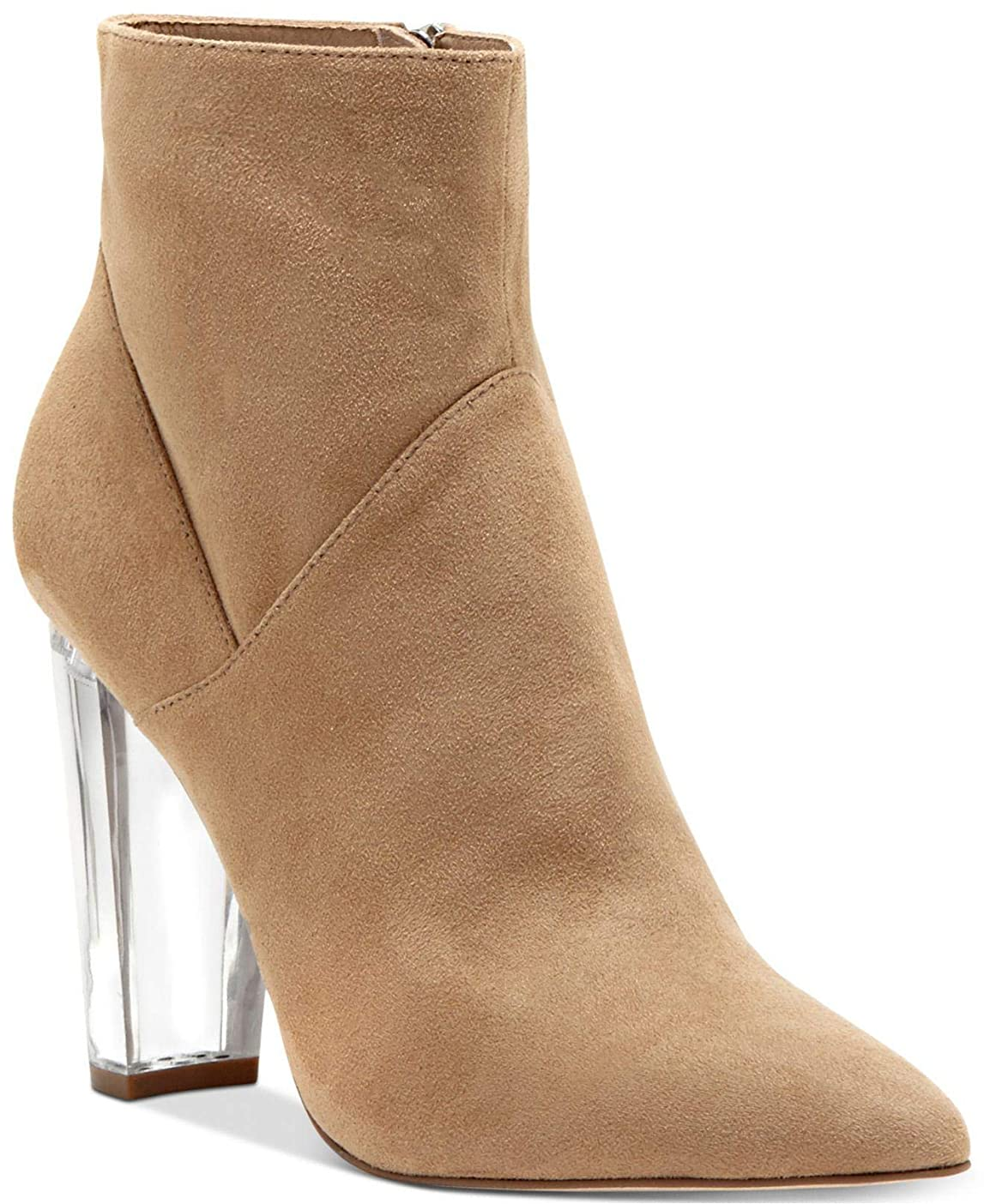 充実発表マンモス[Jessica Simpson] Womens Tarek Fabric Almond Toe Ankle Fashion Boots [並行輸入品]