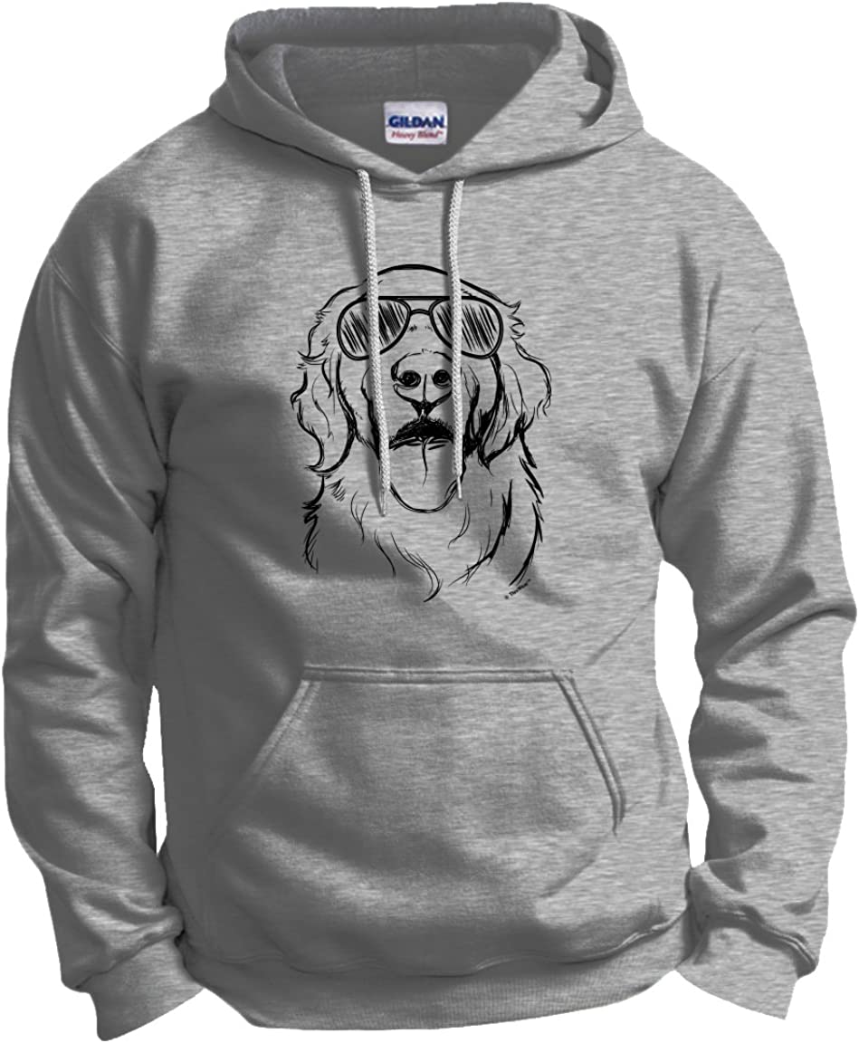 famous Golden Retriever Gifts Dog Sunglasses Sweats in Hoodie Complete Free Shipping