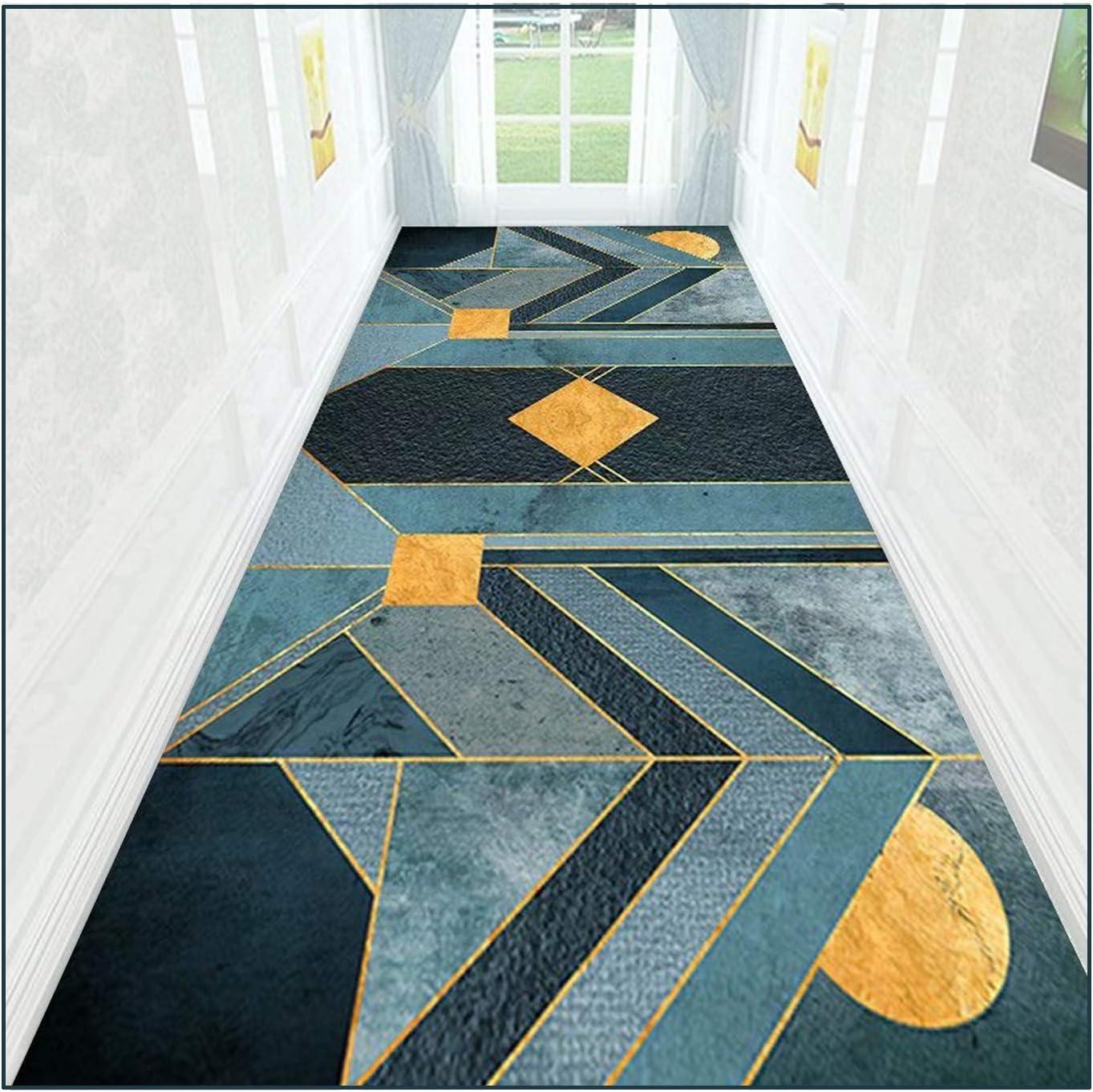 ZEMIN Hallway Runner Rugs Geometry Financial sales Latest item sale Non Patterns Runners Carpet