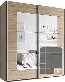 Amazon.es: armario puertas correderas con espejo