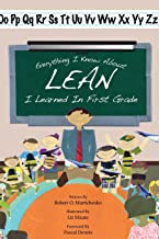 Everything I Know About Lean I Learned in First Grade (English Edition)