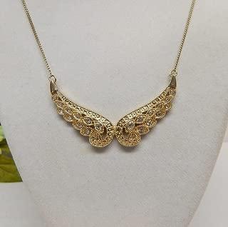 Avon Heavenly Angel Wings Necklace
