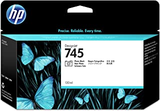 HP 745 F9J98A 130ml Photo Black Original Designjet Ink Cartridge