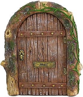 Best Top Collection Miniature Fairy Garden Mystical Gnome Home Door Review