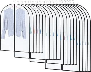 STARVAST 20 Pcs Housses de Vêtements avec Zip pour Anti-poussière, Anti-Mites, l'humidité - Housses de Protection pour Vet...