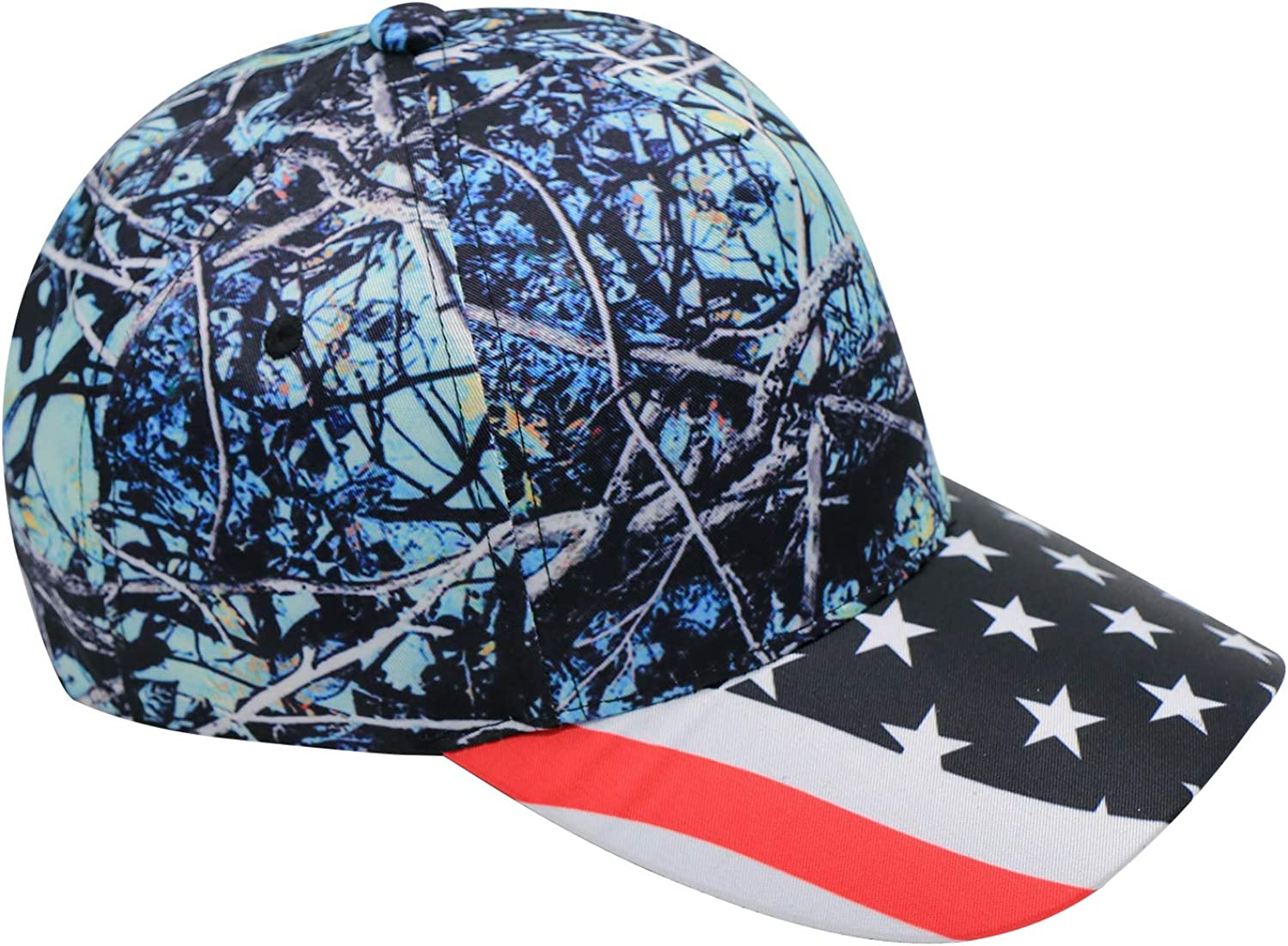 MYHAT Impeach Trump 2020 Adjustable Baseball Tree Camouflage Caps,Peaked Hats for Womens//Mens