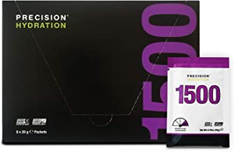 Precision Hydration Electrolyte Drink Mix- All Natural Multi Strength Electrolyte Powders – Combats Cramp – Gluten Free Hypotonic 1 Box 8 Packets 1500mg l – Purple Packet Estimated Price : £ 9,99