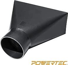 POWERTEC 70151   Dust Hood Rectangular Funneled Shape, 4-Inch By 10-Inch
