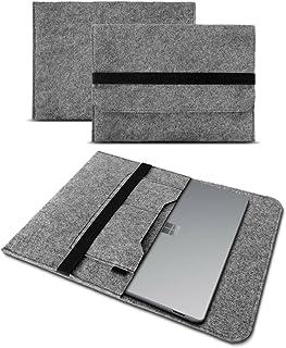 UC-Express Tablethoes compatibel met Microsoft Surface Go/Go 2 / Go 3 10 hoes vilt case bescherming cover, kleur: grijs