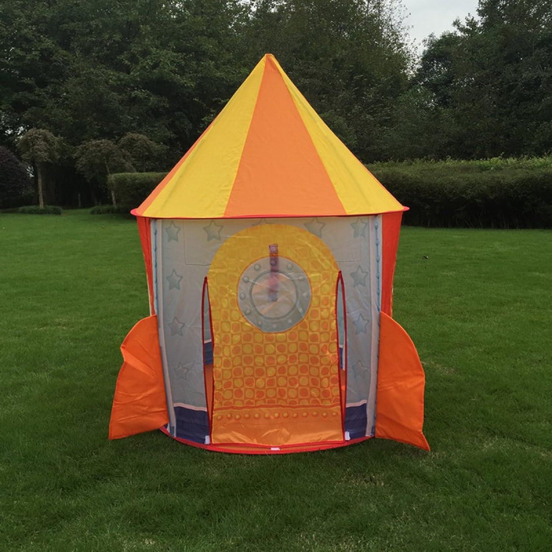 Kinderspiel-Yurts-Umweltschutzspielhaus Der Kinderzelt-Rakete Im Freien