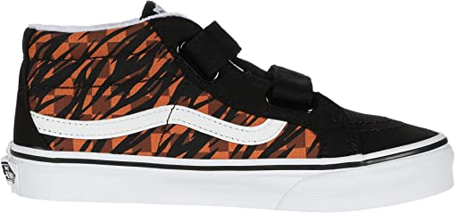 (Animal Checkerboard) Tiger/Black