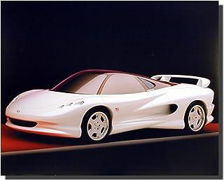 Muscle Car White Vision K2 Supercar Wall Decor Art Print Poster (16x20)