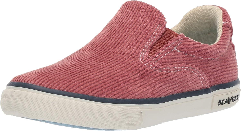 SeaVees Unisex Kids Hawthorne Cordies Sneaker, red Ochre, 13C M US Little Kid