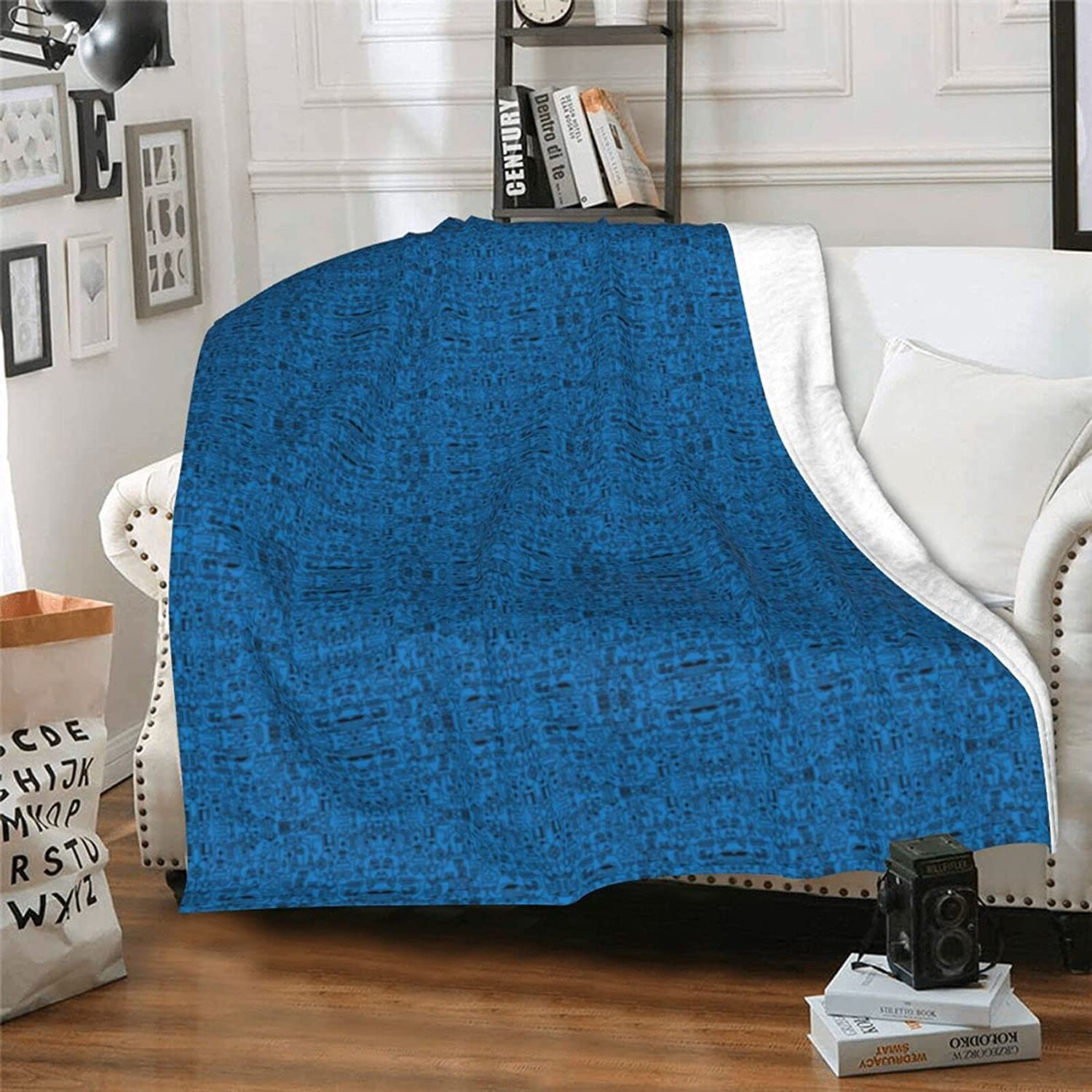 WIUEZWY Formula Pattern Printed Max San Jose Mall 64% OFF for Colorful Blanket Rug