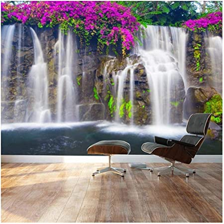 //Self-adhesive Foil Waterfall 10110903-43 Photo Wallpaper Non-woven fleece