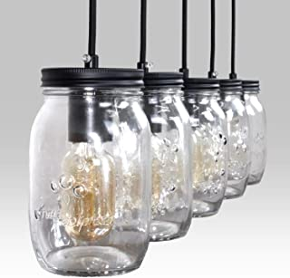 Best mason jar kitchen island light Reviews