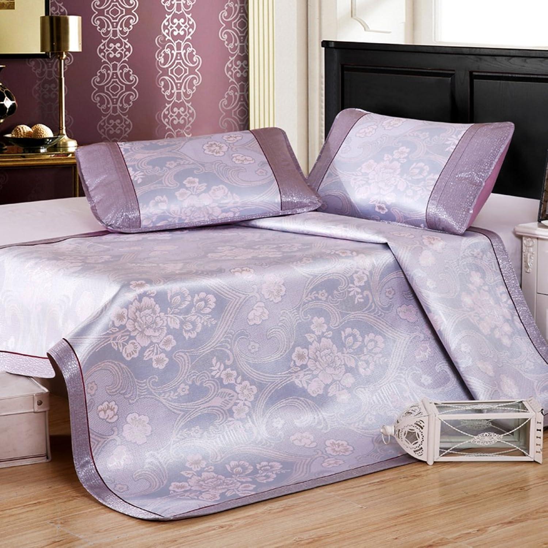 Plant Flowers Summer mat,European Foldable Individual Cool pad Sleeping mat ice mat Twin Queen Size Mattress Topper -D 90x190cm(35x75inch)