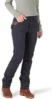 Wrangler Riggs Workwear Women's Techno Knit Utility Pant, Navy, 18W x 32L