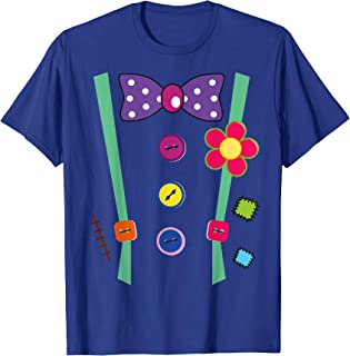 Halloween Clown T-Shirt DIY Costume Fun For Man Woman & Kids