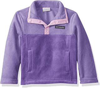 Columbia Youth Steens Mtn 1/4 Snap Fleece Pull-Over, Soft Fleece, Classic Fit