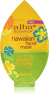 Alba Botanica Natural Hawaiian Facial Mask Pore-fecting Papaya Enzyme, 0.3 Ounce