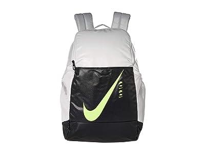 Nike Brasilia Backpack 9.0 (Photon Dust/Dark Smoke Grey/Ghost Green) Backpack Bags