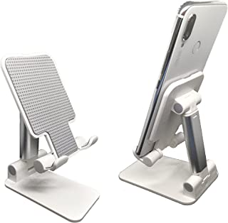 Foldable Mobile Phone Stand Holder Light Weight Travel Size With Adjustable Angle and Height, Cellphone Stand Holder For D...
