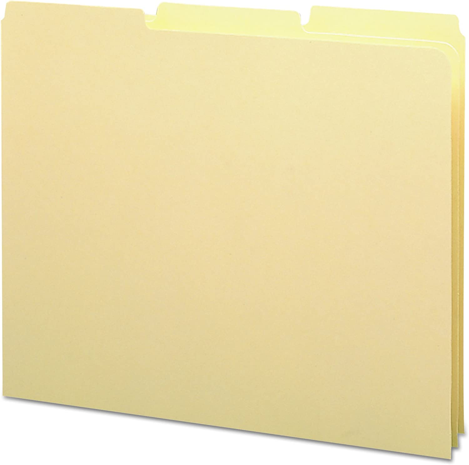 alta calidad general Recycled Tab File File File Guides, Blank, 1 3 Tab, 18 Point Manila, Letter, 100 Box  comprar descuentos