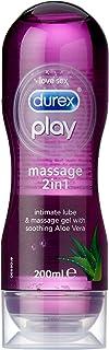 Durex Play Aloe Vera 2 in 1 Massage Gel Intimate Lubricant, 200ml