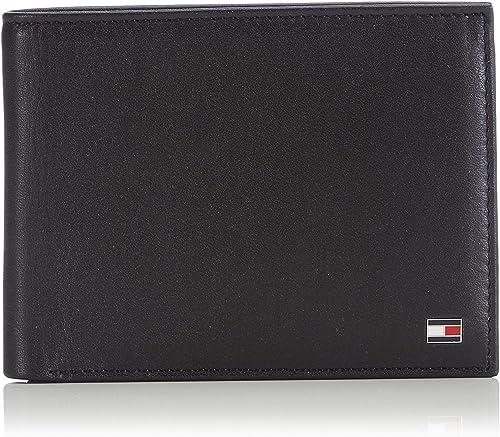 Tommy Hilfiger, Men, Catera, Eton cc and Coin Pocket, Black (black 2), 14 x 10 x 2 cm (B x H x T)