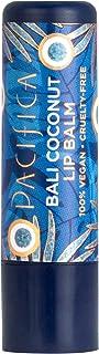 Pacifica Beauty Natural Lip Balm, Bali Coconut, 6 Count