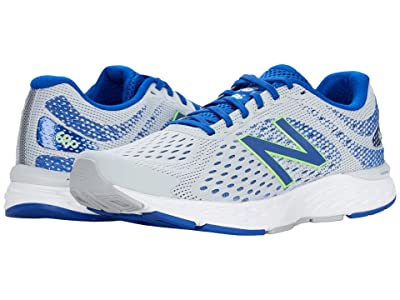 New Balance 680v6 (Light Aluminum/Cobalt) Men