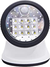 Light It! By Fulcrum, 12-LED Motion Sensor Security Light, Wireless, Battery Operated, White