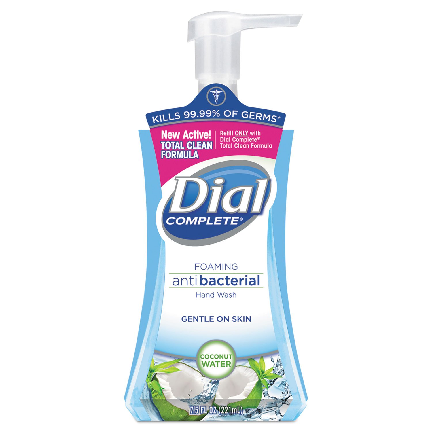 Antimicrobial Max 45% OFF Foaming Hand Soap Coconut Waters Oz 7.5 Pump Bot Baltimore Mall