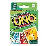 マテルゲーム(Mattel Game) ウノ(UNO) 地球にやさしいウノ 【7歳~】【サステナブル】【FSC認証取得】 GTH23