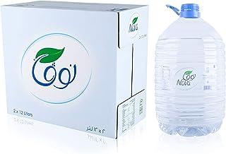 Nova Bottled water, 2X12 ltr