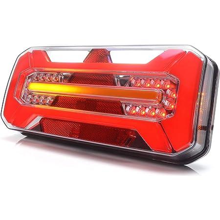 Led Rückleuchte Lkw Pkw Anhänger 7 Funktionen Links 12v 24v 1279dd L Auto