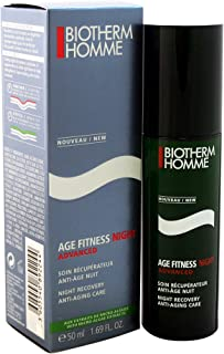 Biotherm Age Fitness Night Anti-Aging Fortifying Night Care for Men, 1.69 Ounce