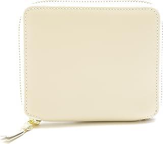 COMME DES GARCONS SA2100/ラウンドファスナー2つ折り財布/WHITE/アイボリー/コムデギャルソン [並行輸入品]