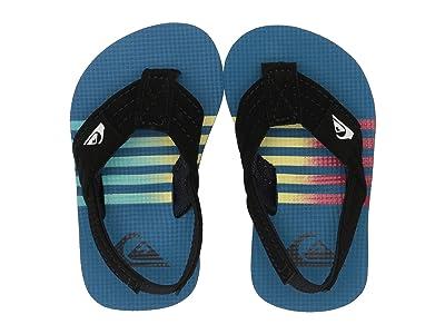 Quiksilver Kids Molokai Layback (Toddler) (Blue/Black/Yellow) Boys Shoes