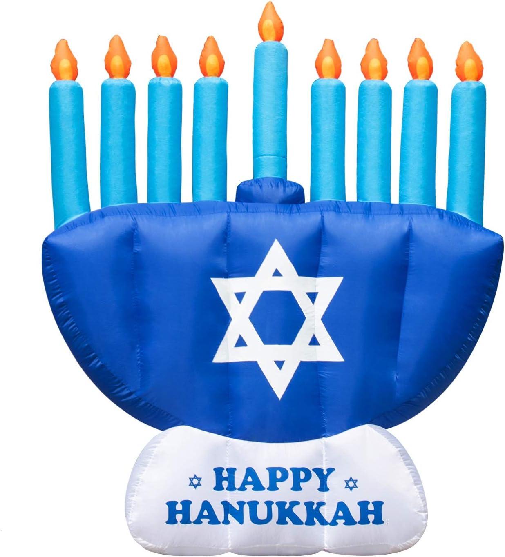 Rocinha Hanukkah Inflatable Ranking TOP15 Outdoor Chanukkah ft 8 Fees free Decorations