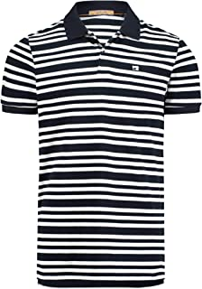 Scotch & Soda Men's Classic Clean Pique Polo with All Over Pattern